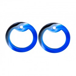 Silicone SILENCERS, 2 pcs. BLUE CAMO