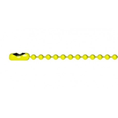 Yellow ball-chain for dogtags
