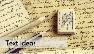 Text ideas