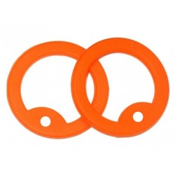 Orange silicone silencer